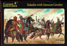 Caesar Miniatures 1.72 scale H018 Saracen Cavalry (late 12th Century) x12 mtd fig